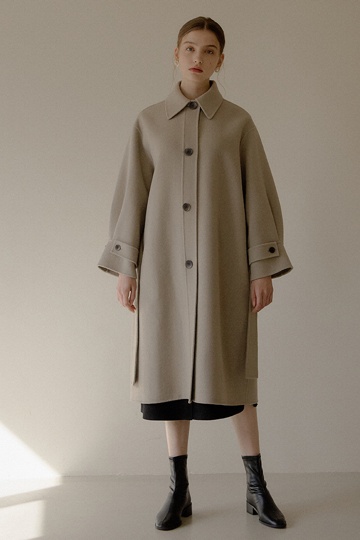 OVER HANDMADE COAT_BEIGE