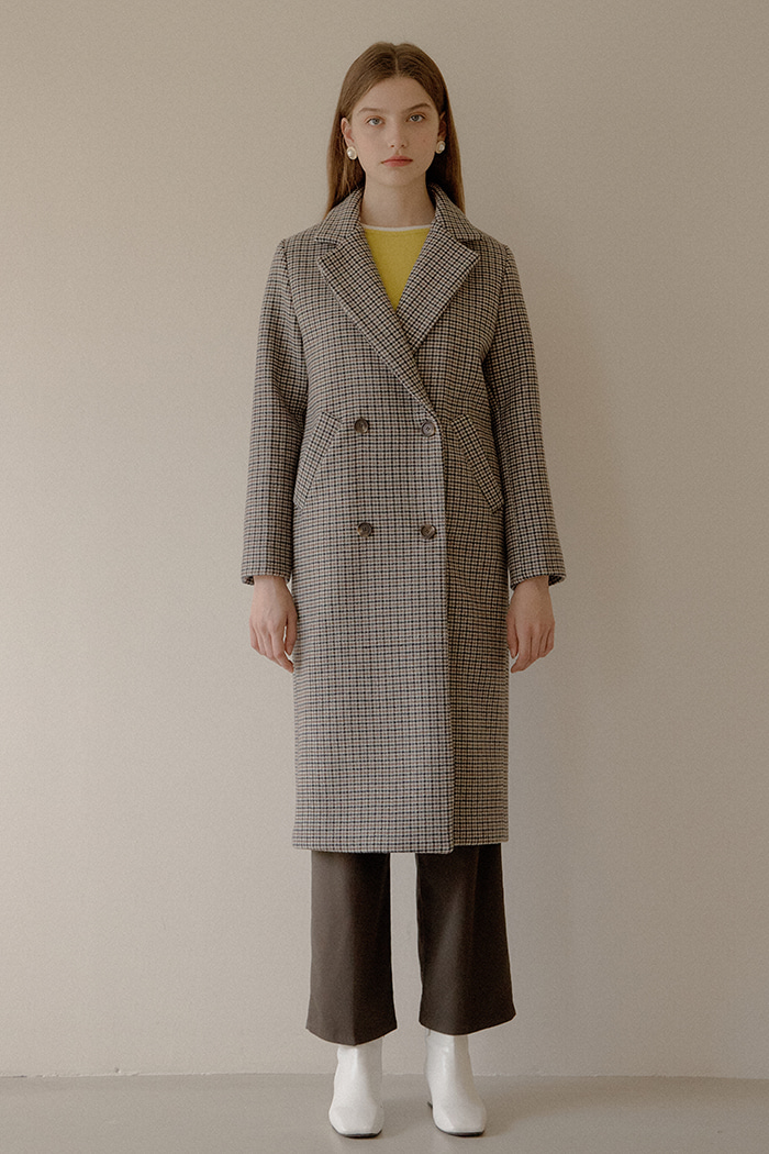 BALANCE CHECK COAT_BROWN