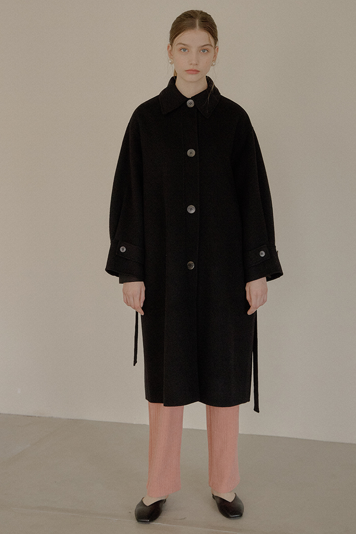 OVER HANDMADE COAT_BLACK