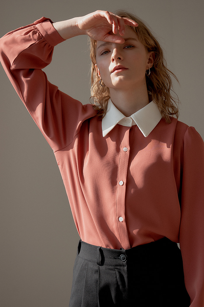 WHITE POINT SHIRT_PINK